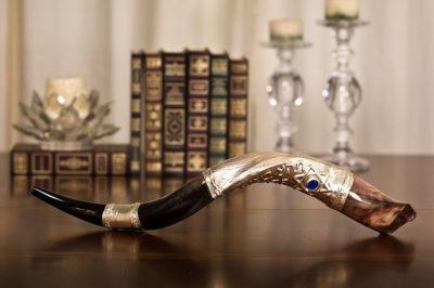 Ceremonial Silver Tip Shofar